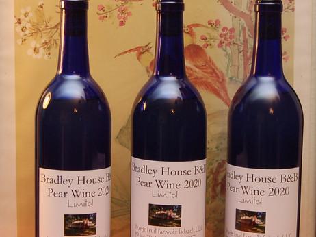 Bradley House Pear Wine