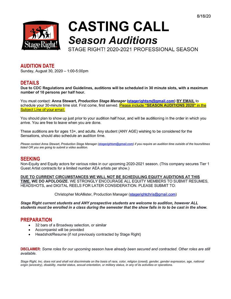 Casting Call - Season Auditions 2020.jpg