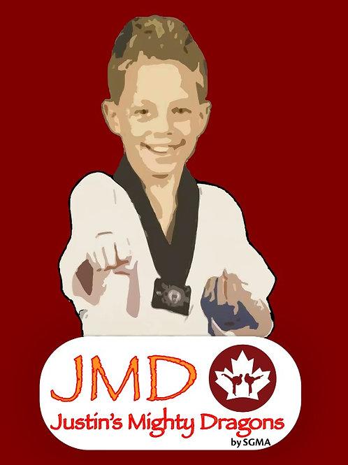 JMD Belt Promotion ( White Belt - White with Black Stripe Belt)