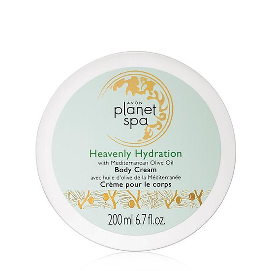 Avon Planet Spa Heavenly Hydration with Mediterranean Olive Oil Body Cream