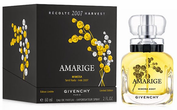Givenchy Amarige Mimosa Récolte Harvest 2007 Limited Edition