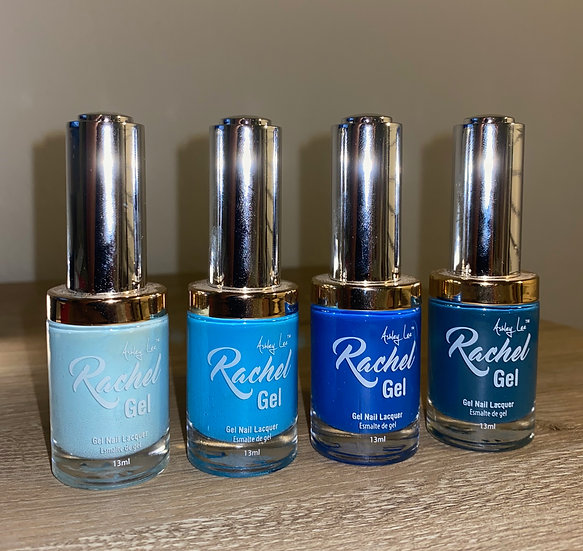 Ashley Lee Rachel Gel Lacquer Sapphire Collection Nail Polish