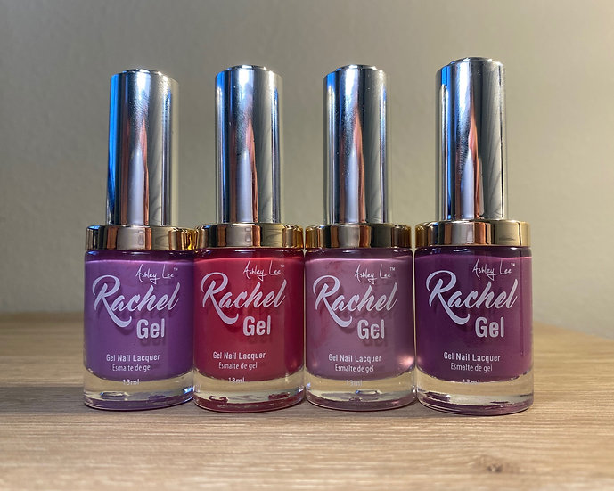 Ashley Lee Rachel Gel Lacquer Lavender Collection Nail Polish
