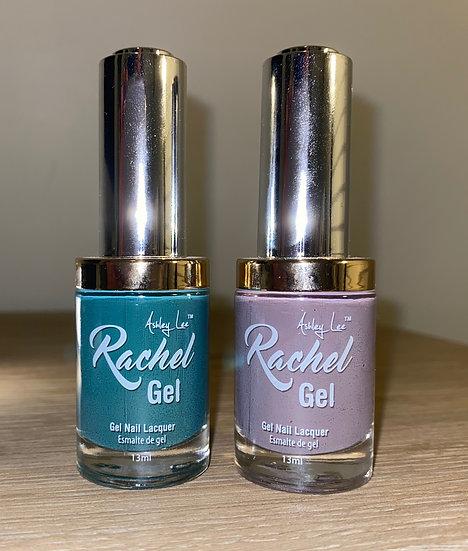 Ashley Lee Rachel Gel Lacquer Claire De Lune Collection Nail Polish