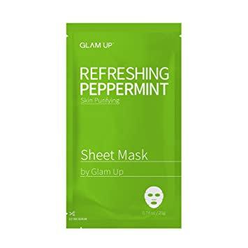 Glam Up Refreshing Peppermint Sheet Mask