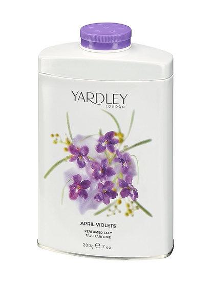 Yardley English April Violets Talc Powder