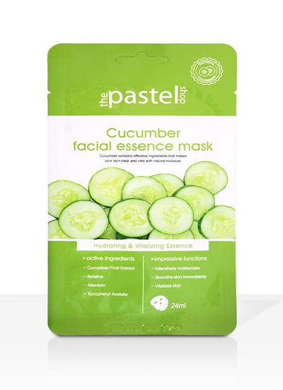 The Pastel Shop Cucumber Facial Essence Mask