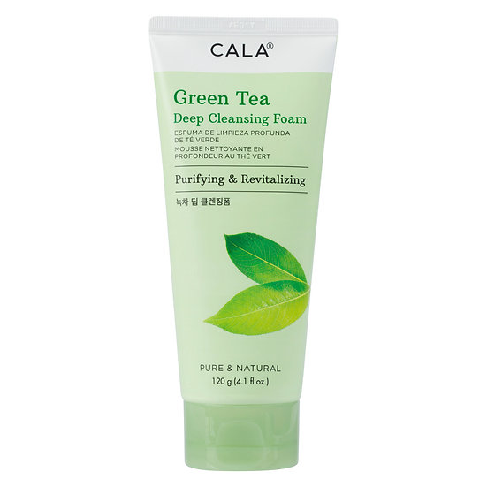 Cala Green Tea Deep Cleansing Foam