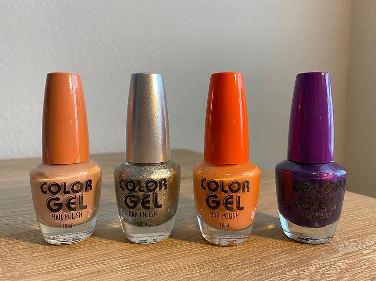 Color Gel Nail Polish
