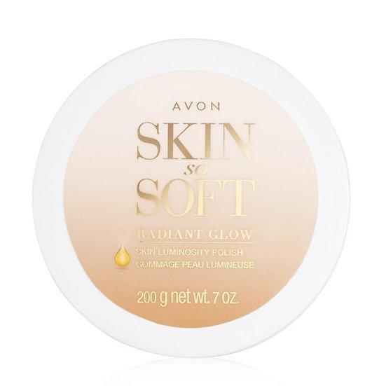 Avon Skin So Soft Radiant Glow Skin Luminosity Polish