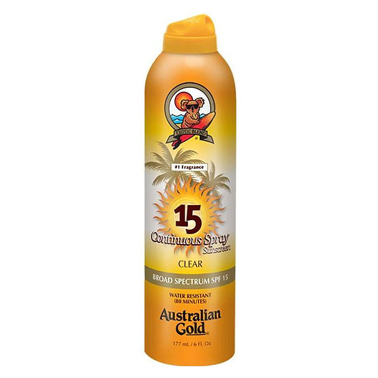 Australian Gold SPF 15 with Instant Bronzer Continuous Spray