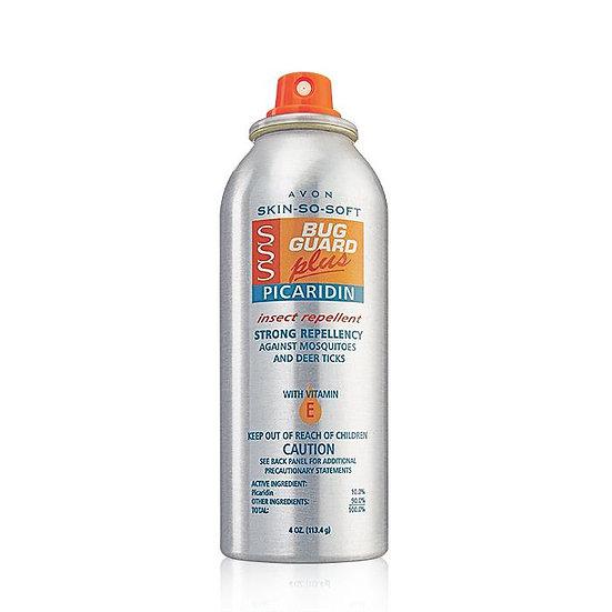 Avon Skin So Soft Bug Guard Plus Picaridin Aerosol Spray