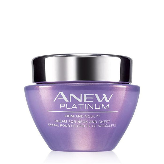 Avon Anew Platinum Firm and Sculpt Cream for Neck and Chest