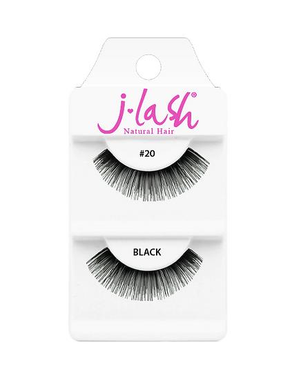 JLash Natural Hair Lashes #20