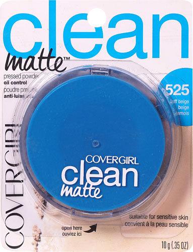 Covergirl Clean Matte Powder