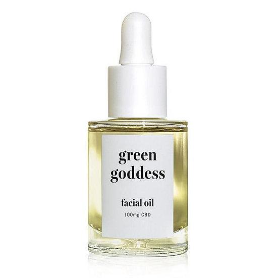 Green Goddess Facial Oil - 100mg CBD