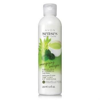 Avon Senses Body Energizing Green Tea & Verbena Body Lotion