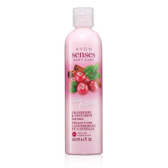 Avon Senses Body Care Cranberry & Cinnamon Body Lotion