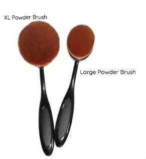 Ashley Lee Urban Allure Oval Powder Brush