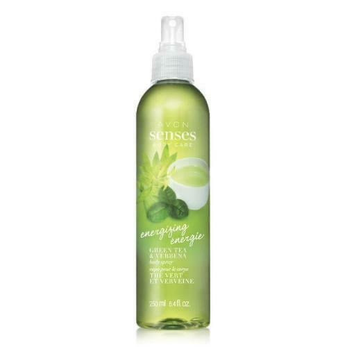 Avon Senses Body Energizing Green Tea & Verbena Body Spray