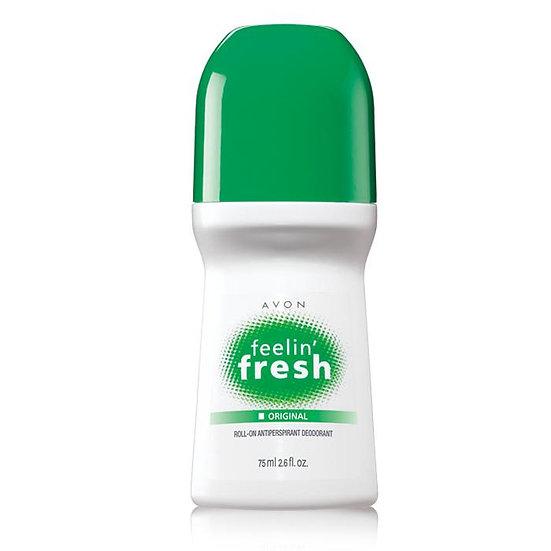 Avon Feelin' Fresh Original Roll-On Antiperspirant Deodorant