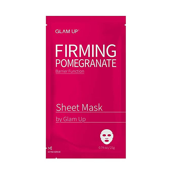 Glam Up Firming Pomegranate Sheet Mask