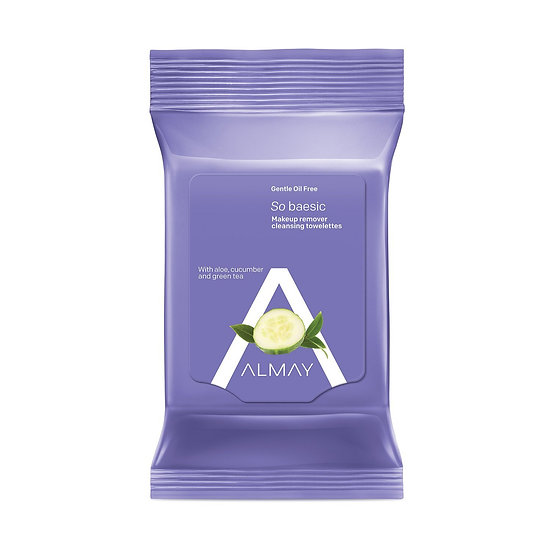 Almay Gentle Oil Free Makeup Remover Cleansing Towelettes