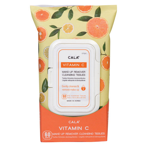 Cala Vitamin C Makeup Remover Cleansing Tissues