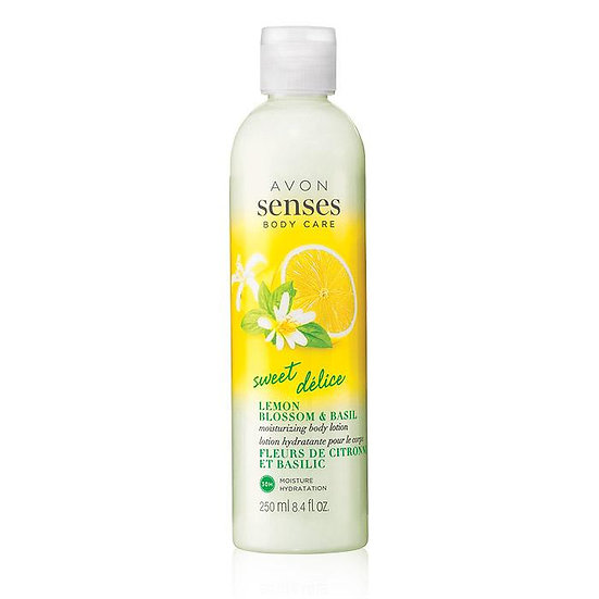 Avon Senses Body Care Lemon Blossom and Basil Body Lotion