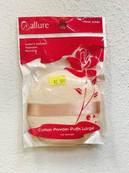 Allure Cotton Powder Puff, Large