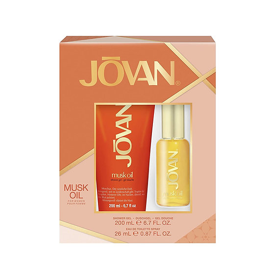 Jovan Musk Oil Gift Set for Women