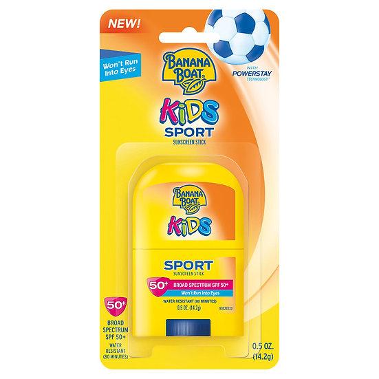 Banana Boat Kids Sport Sunscreen Stick Broad Spectrum SPF50