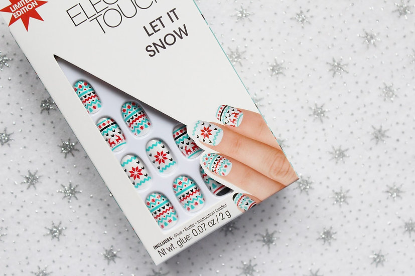 Elegant Touch Let It Snow Limited Edition Nails