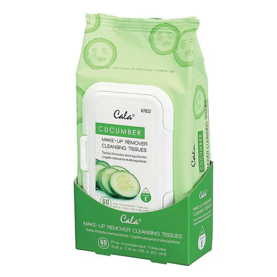 Cala Cucumber Makeup Cleansing Tissues
