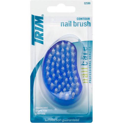 Trim Contour Nail Brush