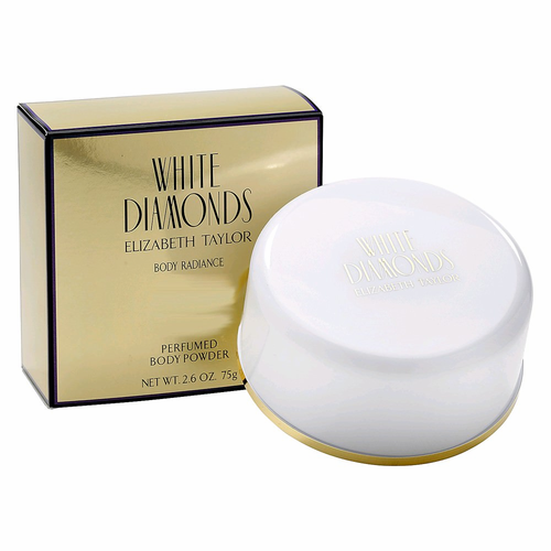 Elizabeth Taylor White Diamonds for Women Body Powder