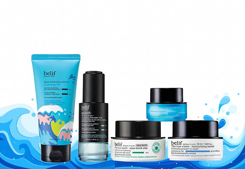 belif Skin Care Set