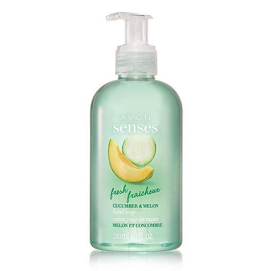 Avon Senses Fresh Cucumber Melon Hand Soap