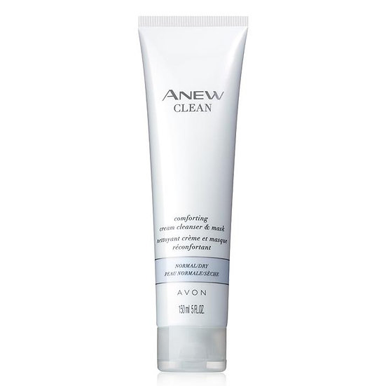 Avon Anew Clean Comforting Cream Cleanser and Mask