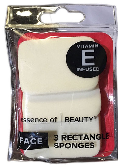 Essence of Beauty Rectangle Sponges