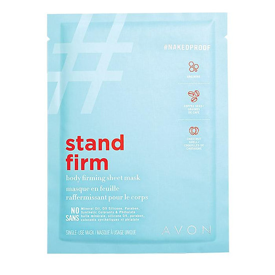 Avon NAKEDPROOF Stand Firm Body Firming Sheet Mask