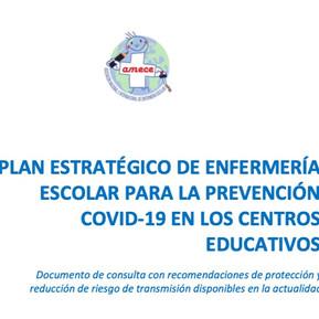 Plan estratégico de Enfermería Escolar para la preveción Covid-19 en centros educativos