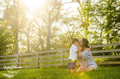 A Mother's Day photo shoot at the farm.