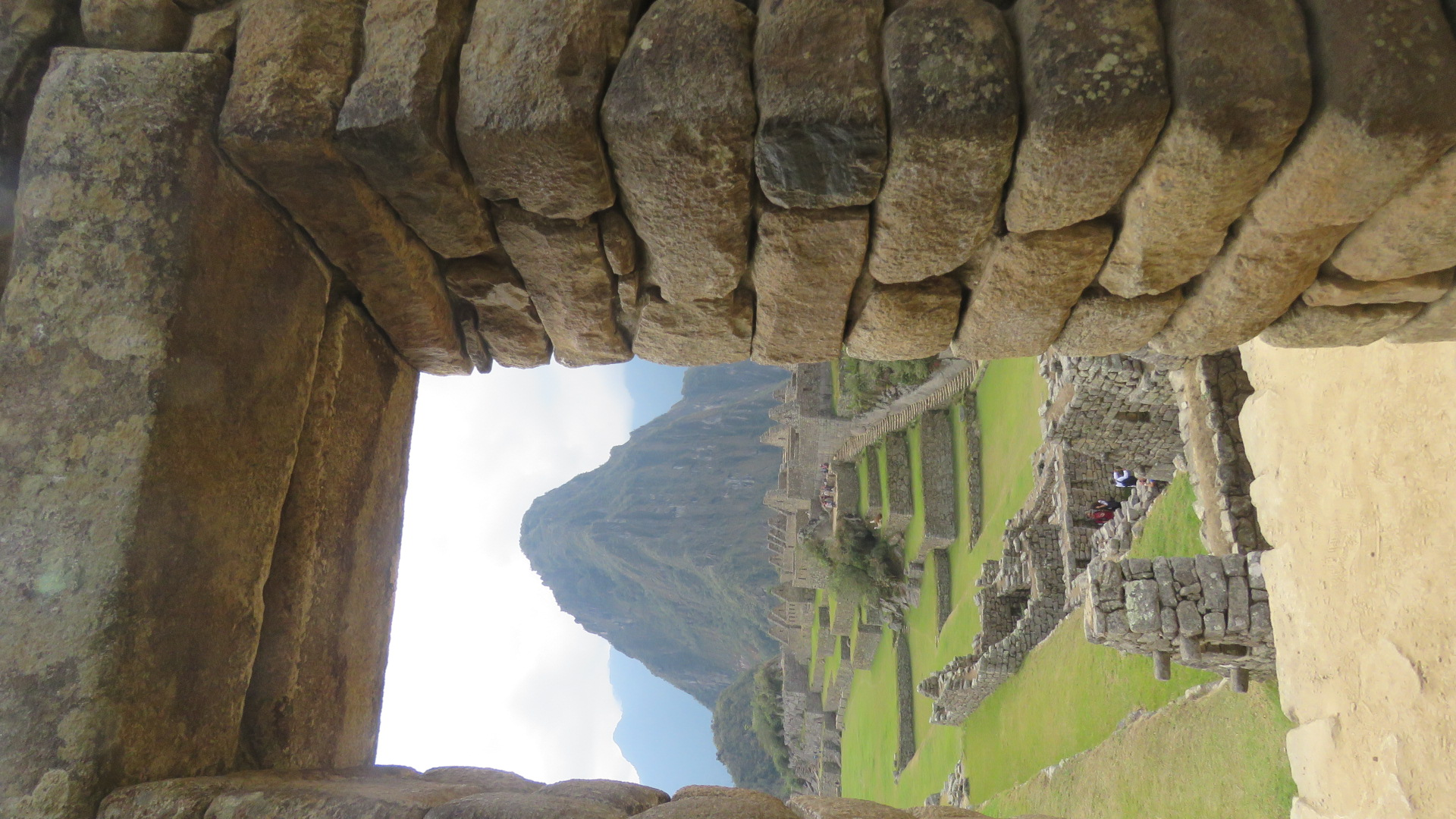 Vista do Waina Picchu.