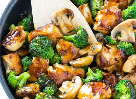 Crazy Good Chicken and Broccoli
