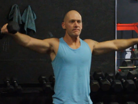 Shoulder Exercise - Advanced Lateral Raise