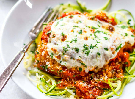 Chicken Parmesan Healthy Recipe
