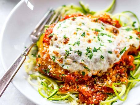 Chicken Parmesan Healthy Recipe