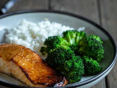 Salmon Pilaf