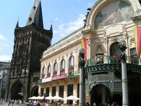 Praga città divisa